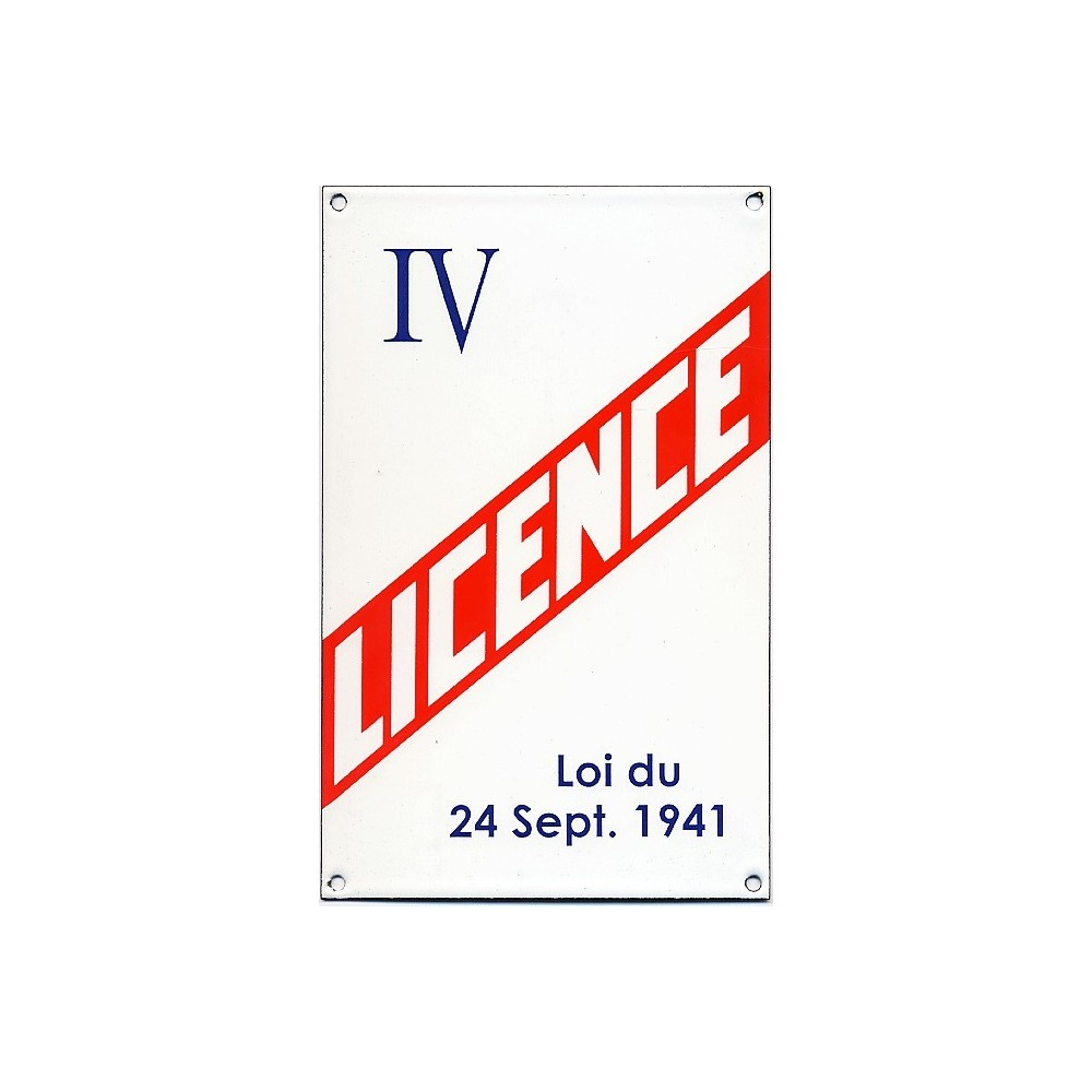 Licence IV PARIS n° 13983 - 17 décembre 2020 à 8h00 Image