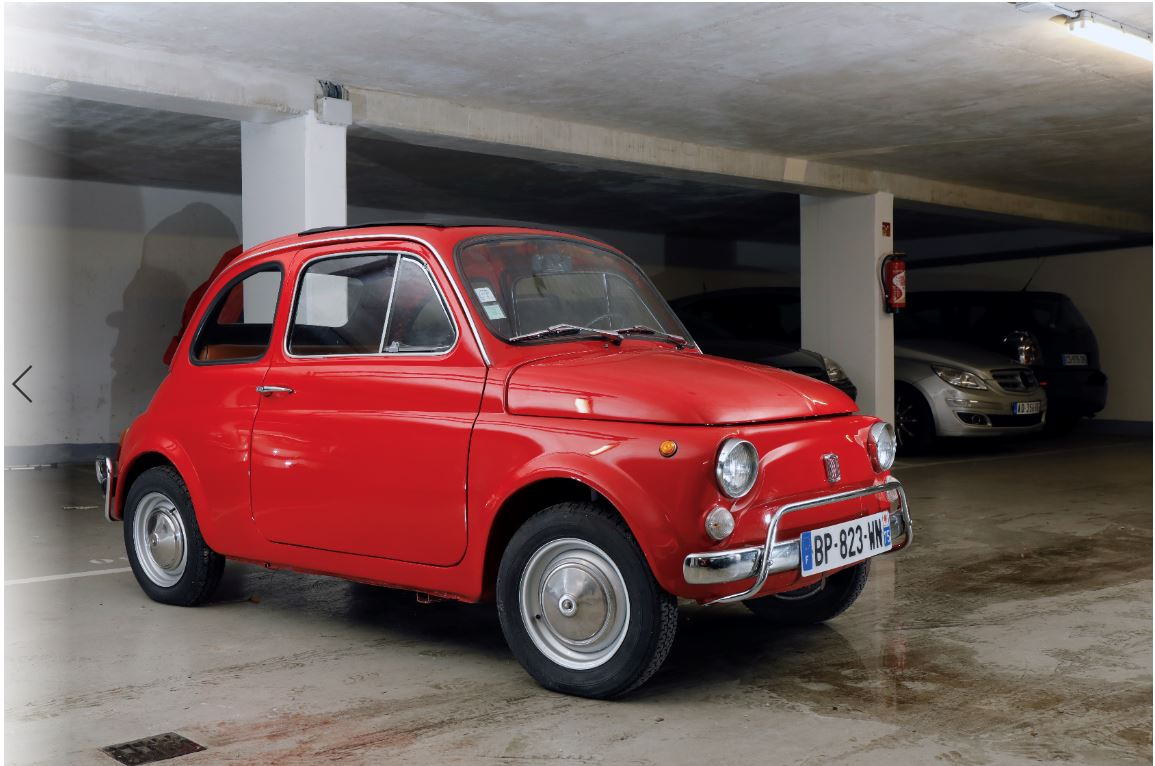 Ancienne FIAT 500 - 1972 Image